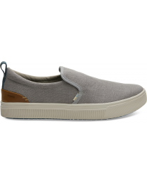 Grey Canvas TRVL Lite Men's Slip-ons