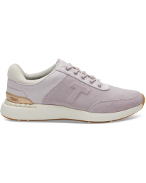 Lilac Suede and Canvas Arroyo Women's Sneakers