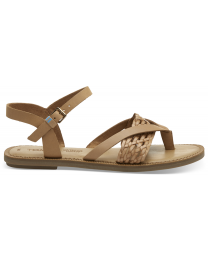 Brown Leather Lexie Women's Sandals