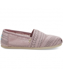 Women's Alpargata Mesh Purple