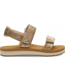 Champagne Shimmer Ray Women's Sandals
