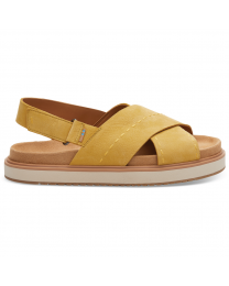 Yellow Nubuck Women's Marisa Sandal
